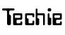 Techie Font