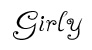 Girly Font